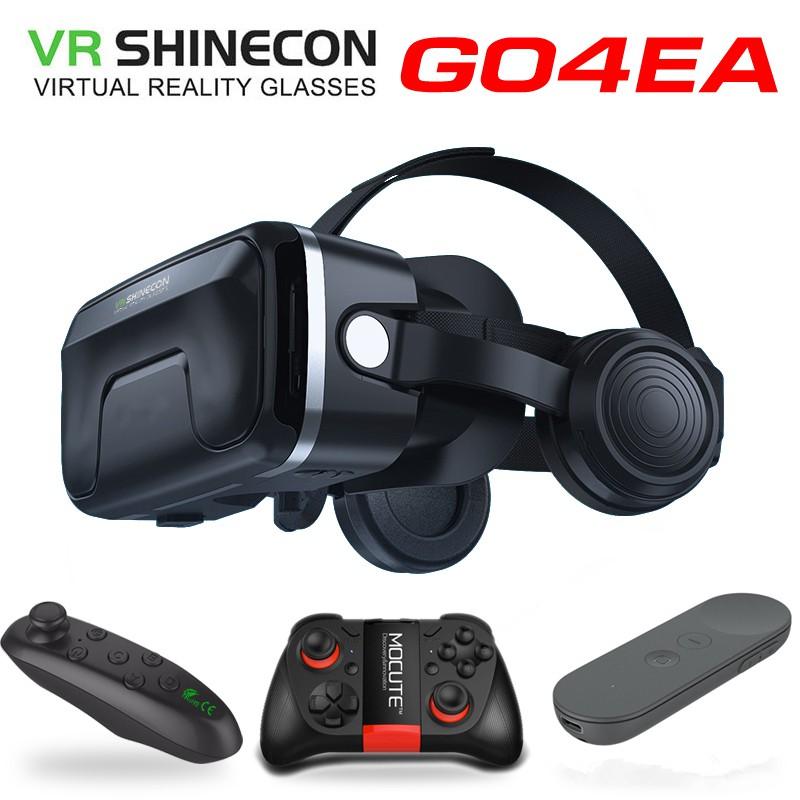 แว่นตา Vr 3 มิติเสมือนจริง Shinecon - 7 . 0 หมวกกันน็อค