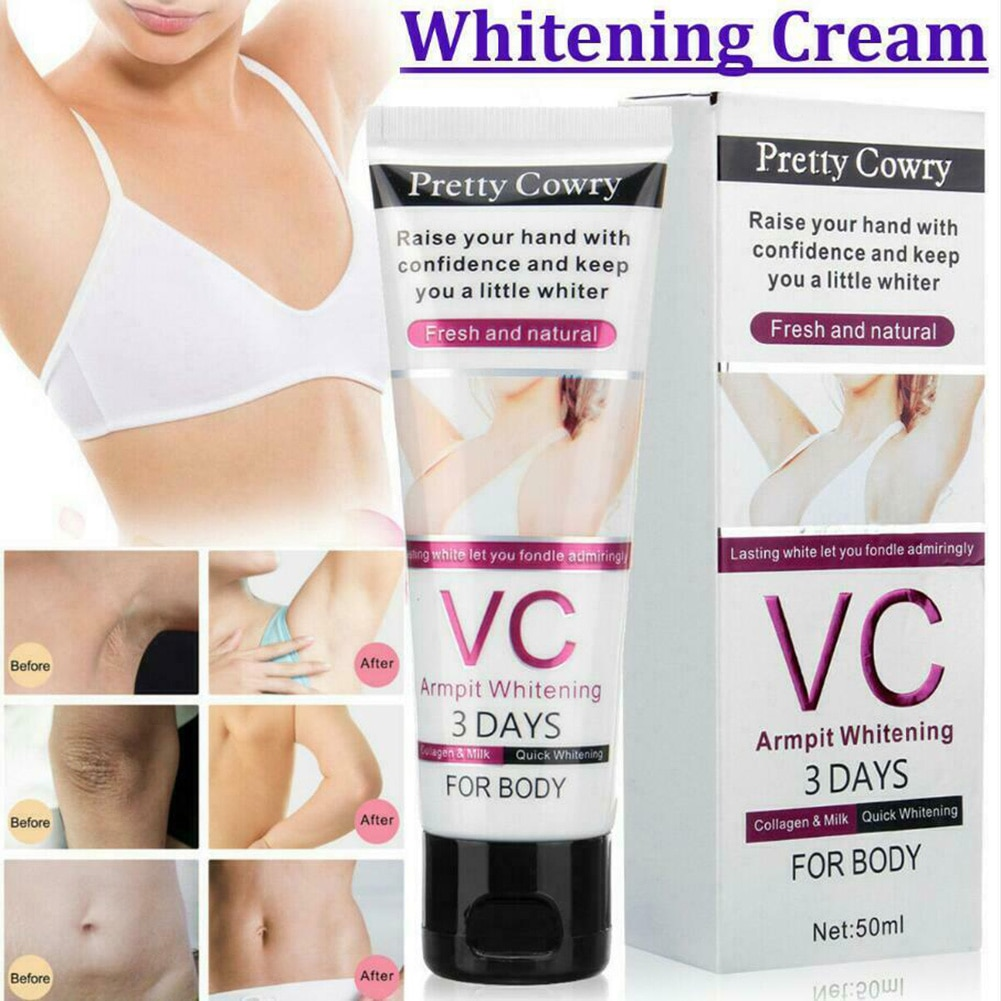 (In Stock)VC Cream Underarm Whitening Cream Armpit Elbow Knee Dark Lightening Area SK88