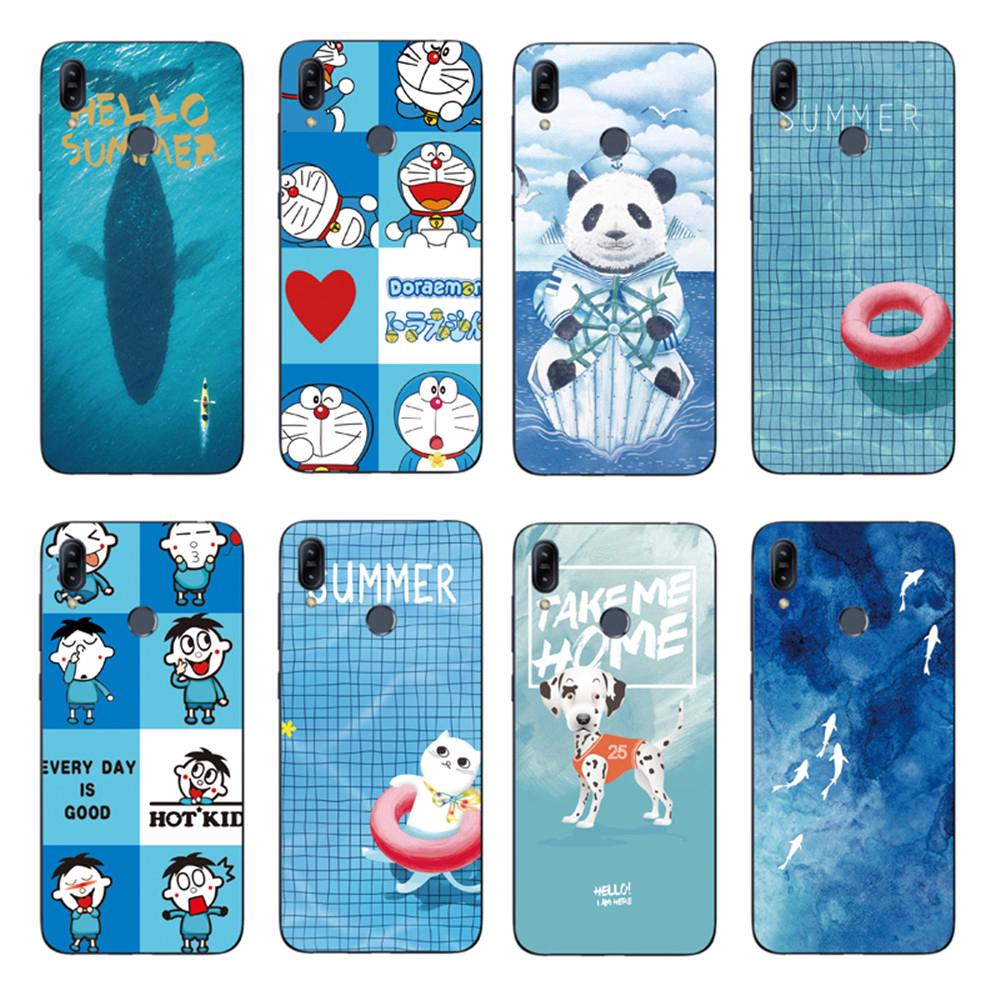Review Cartoon Whale Back Cover Asus Zenfone Max Pro M2 ZB631KL / ZB633KL Soft TPU Case