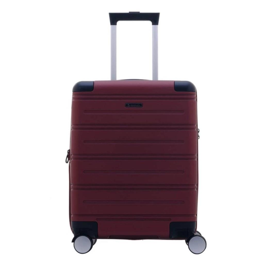 กระเป๋าเดินทาง28นิ้ว GIOGRACIA POLO CLUBรุ่น Angolo ขนาด 28 นิ้ว สีแดง