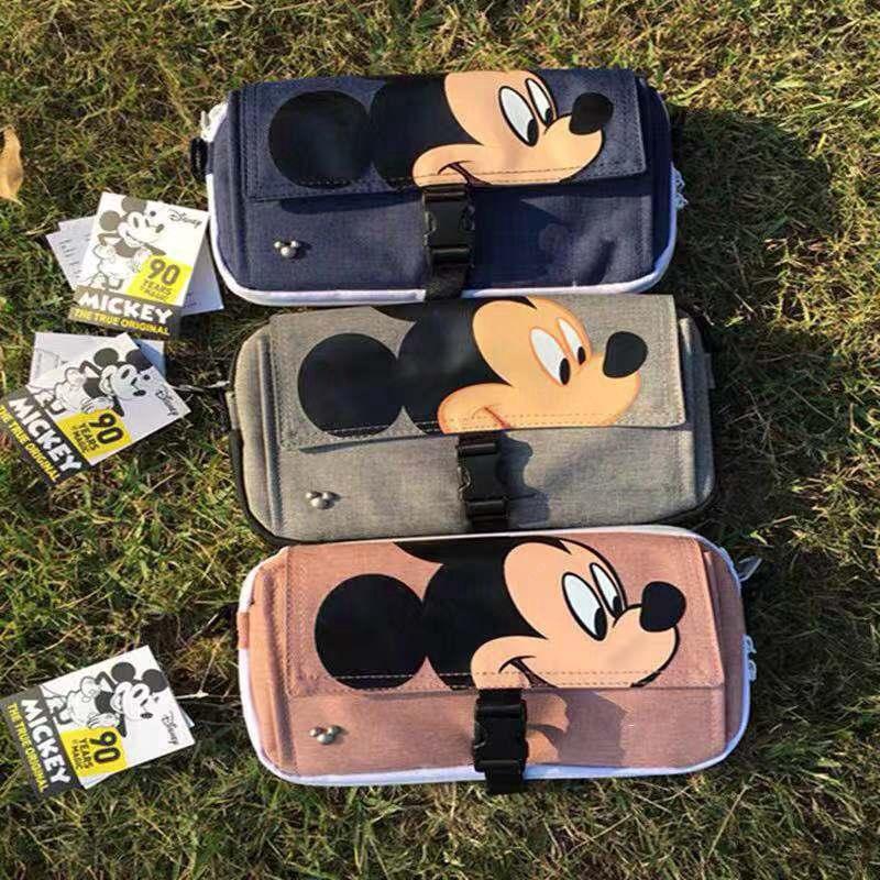 กระเป๋าคาดเอว Anello Mickey Mouse