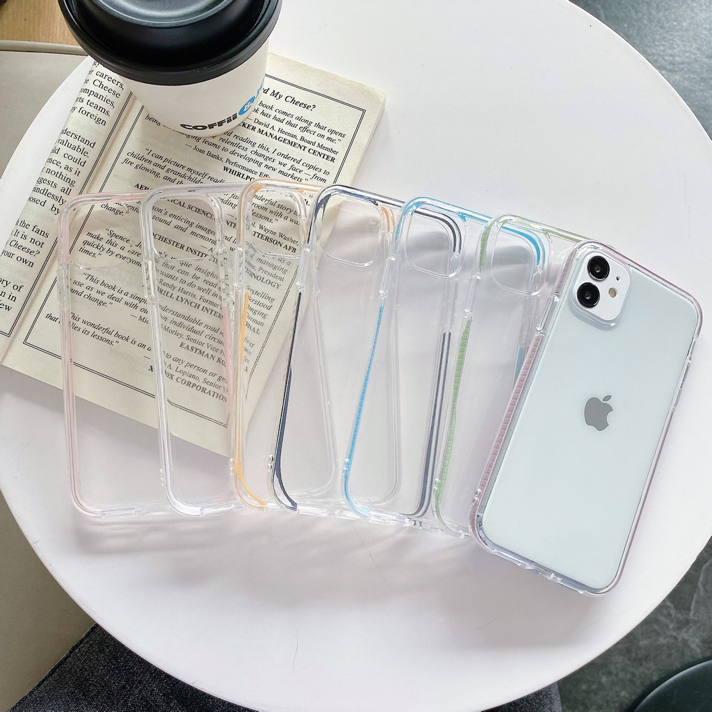 เคสซิลิโคน สำหรับ iphone11 11pro 12mini iPhone12 12pro max 7 8 apple 7P plus case XSMAX XR Xs 6s เคสโทรศัพท์มือถือสองสี
