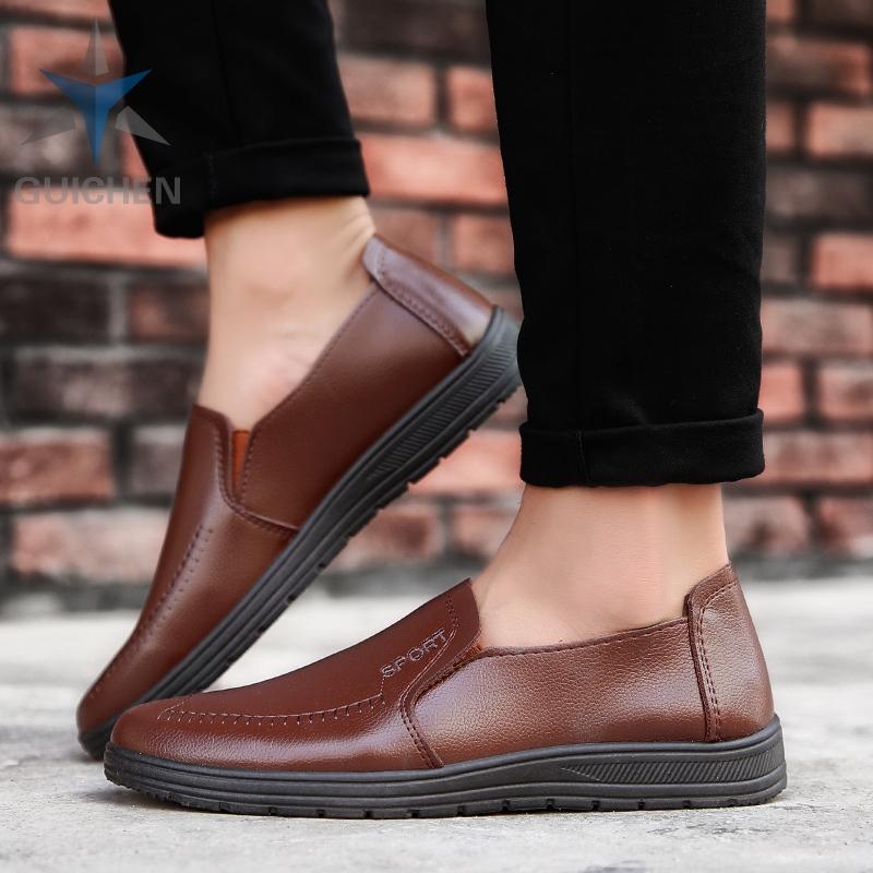 GC⚡ รองเท้าคัชชู รองเท้า รองเท้าหนังแบบผูกเชือก รองเท้าหนังแท้ รองเท้าโลฟเฟอร์ ผู้ชาย loaferรองเท้าหนังแฟชั่น 04