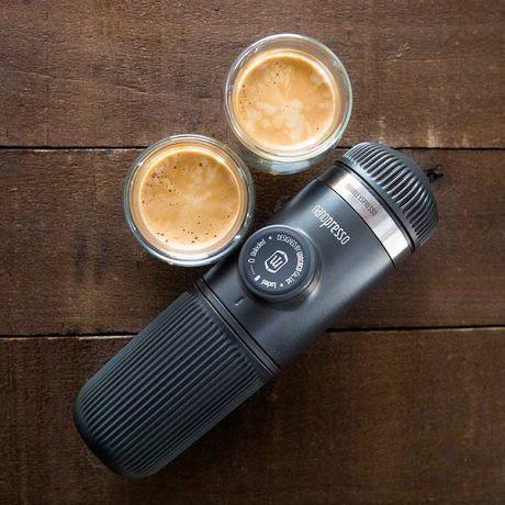 (29-Oct พร้อมส่งทุกเซ็ท) Wacaco Nanopresso Coffee Maker ของแท้ เครื่องทำกาแฟแบบพกพา (ผ่อนไม่คิดเพิ่ม)