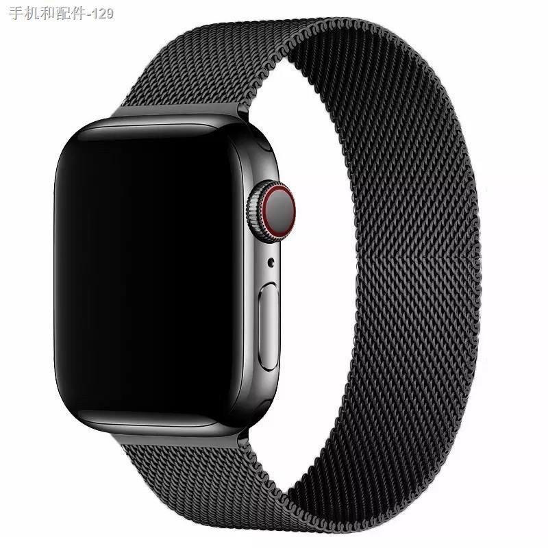 ✁◄พร้อมส่งจากไทย สาย Stainless Steel สำหรับ AppleWatch มีให้เลือก 6 สี ใส่ได้ทั้ง series SE/6/5/4/3/2/1