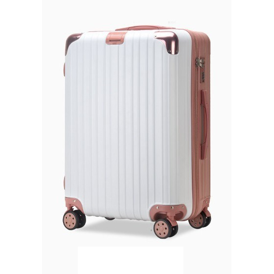 [รับประกันคุณภาพ] กระเป๋าเดินทางSiamChoice 820  20/24/28 นิ้ว ABS+PC 8 ล้อ หมุนได้ 360 องศา รุ่นซิป