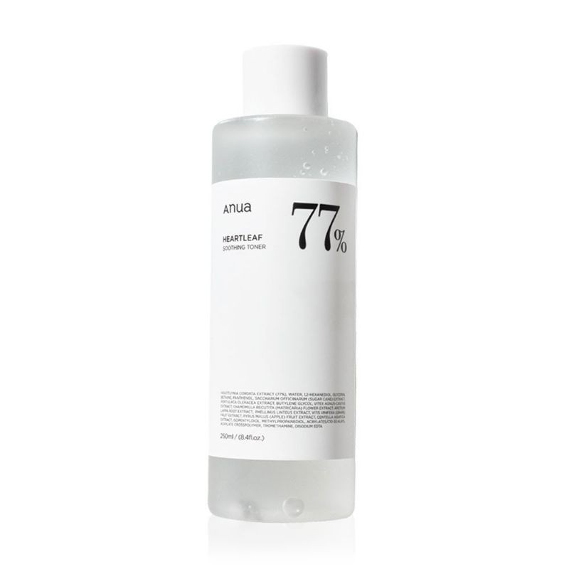 (พร้อมส่ง)ANUA Heartleaf 77% Soothing Toner 250ml