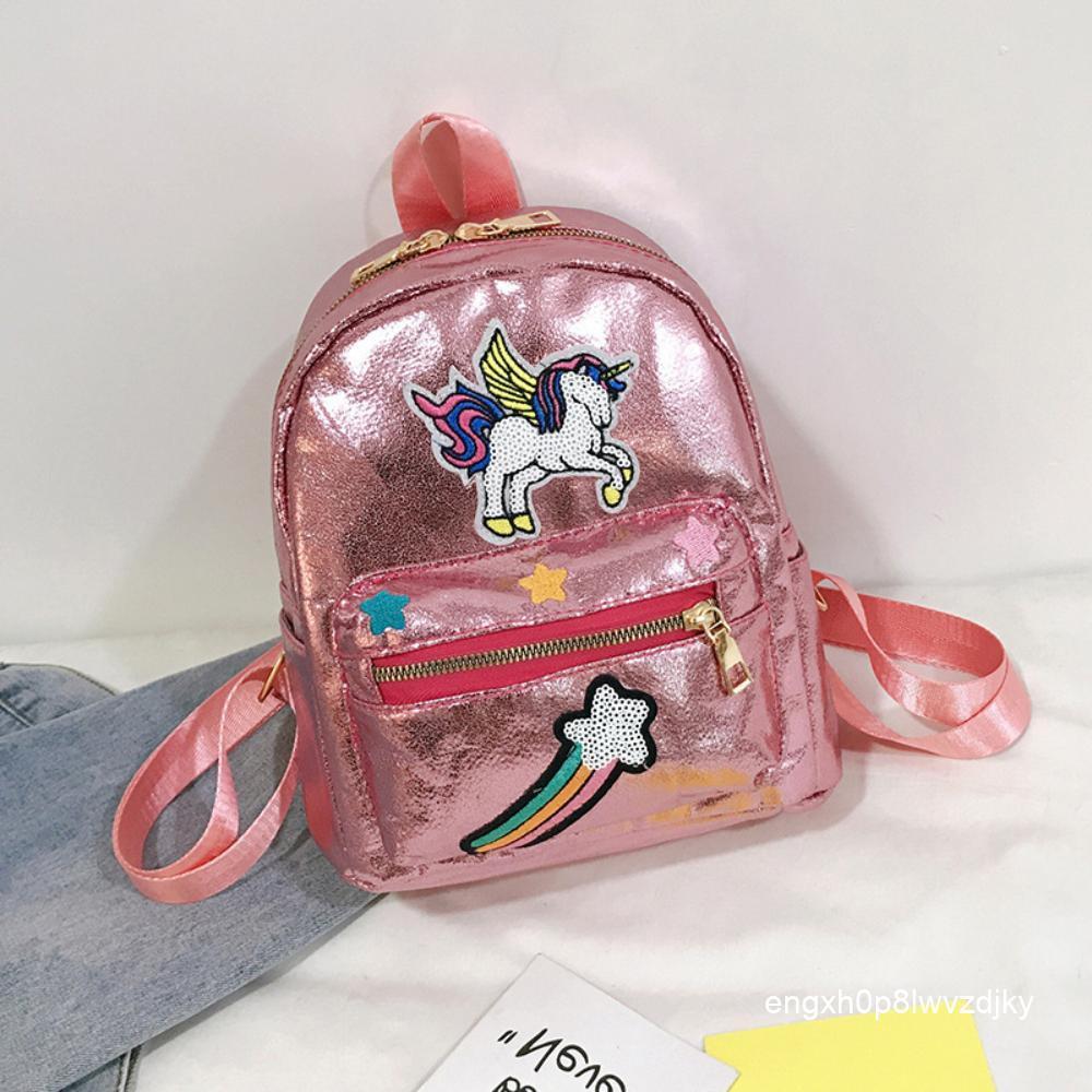 สาวเกาหลีเจ้าหญิงกระเป๋าเดินทางนักเรียนสาวน่ารักกระเป๋าเดินทางกระเป๋าแฟชั่นกระเป๋าเป้เด็ก