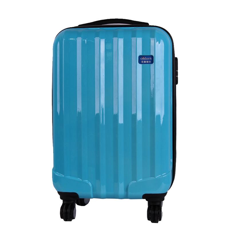 ของขวัญรถเข็นที่กำหนดเองlogoเครื่องหมายการค้า20-นิ้ว24นิ้วกระเป๋าเดินทางกระเป๋าสากลล้อกันน้ำกันกระแทกกระเป๋าเดินทาง