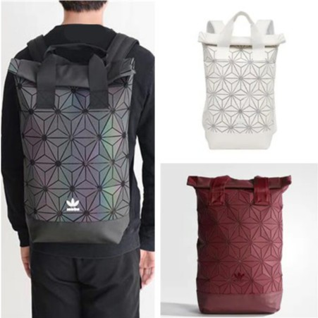 แท้ Adidas Originals มี 4 สี BP Roll Top 3D Mesh Black Backpack Bag