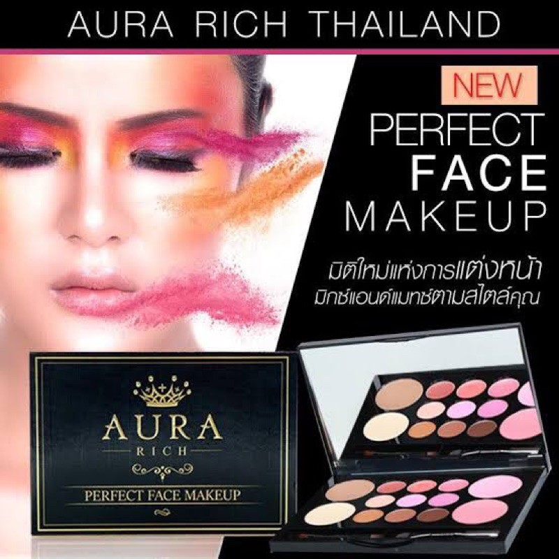 Perfect Face Makeup By Aura Rich