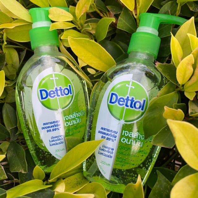 เดทตอล พร้อมส่ง Dettol เดทตอล เจลล้างมืออนามัย 200 มล.