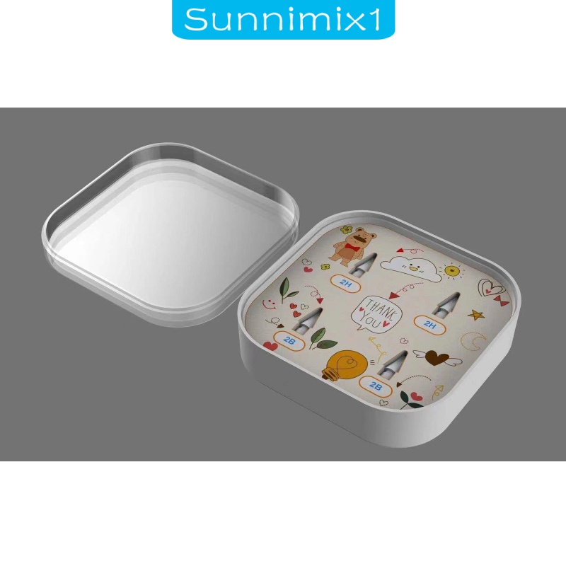 [SUNNIMIX1] Replacement Tips for Apple Pencil 1st and 2nd Gen Drawing Protective Case miha