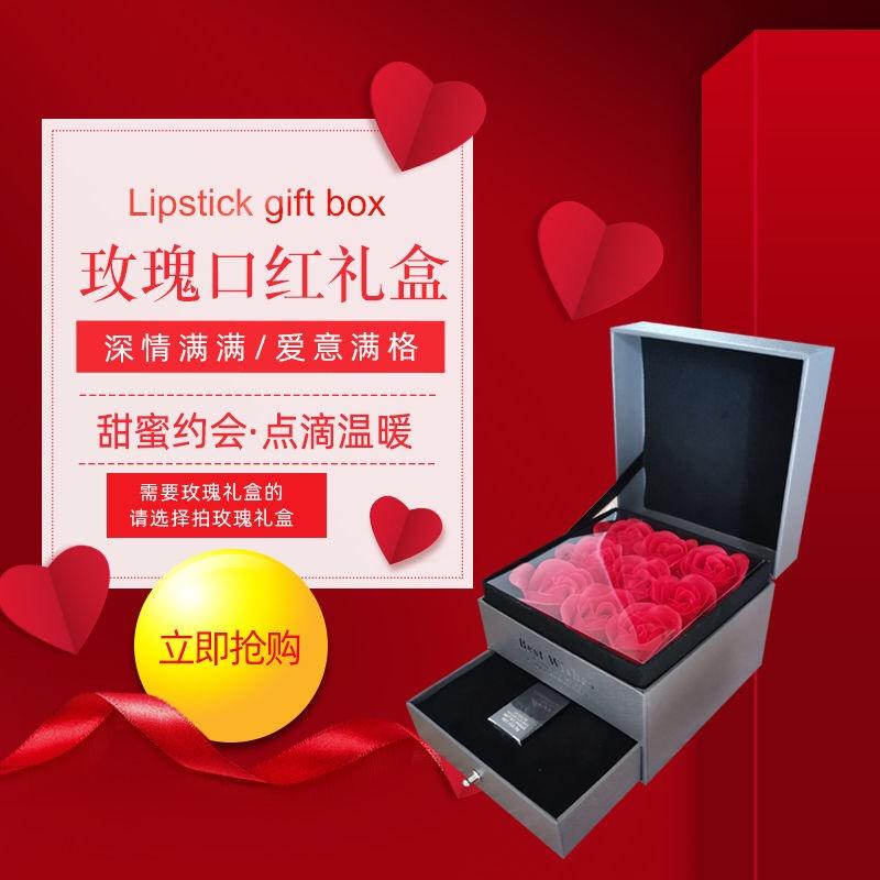 ◔✉🔥จัดส่งที่รวดเร็ว🔥ดินสอเขียนคิ้ว [ของแท้อย่างเป็นทางการ] ชุดกล่องของขวัญ Dior 999แบรนด์ใหญ่ Audi Lipstick Woman 080
