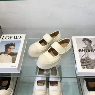 Marni Classic Models Are Shipped From The Counter, The Original Open-Molded แม่พิมพ์เปิดรองเท้า 8 สีขนาด 35-40