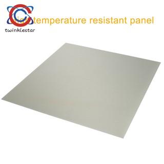 Hotbed Build Plate Polypropylene Build Plate for Ender-3/CR-10/CR-10S  Printer