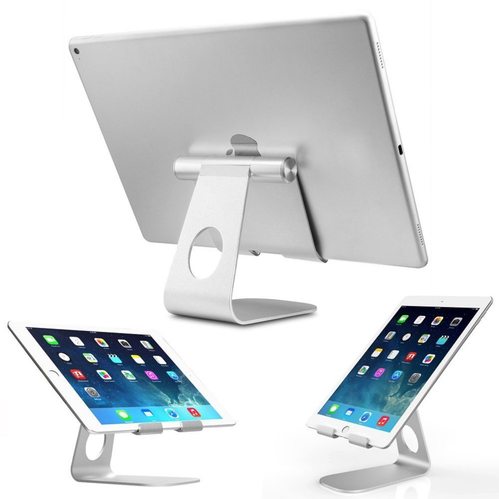 Adjustable Aluminum Alloy Notebook Holder Desktop Stand iPad Tablet Stand Exquisite Workmanship 【nuuo】