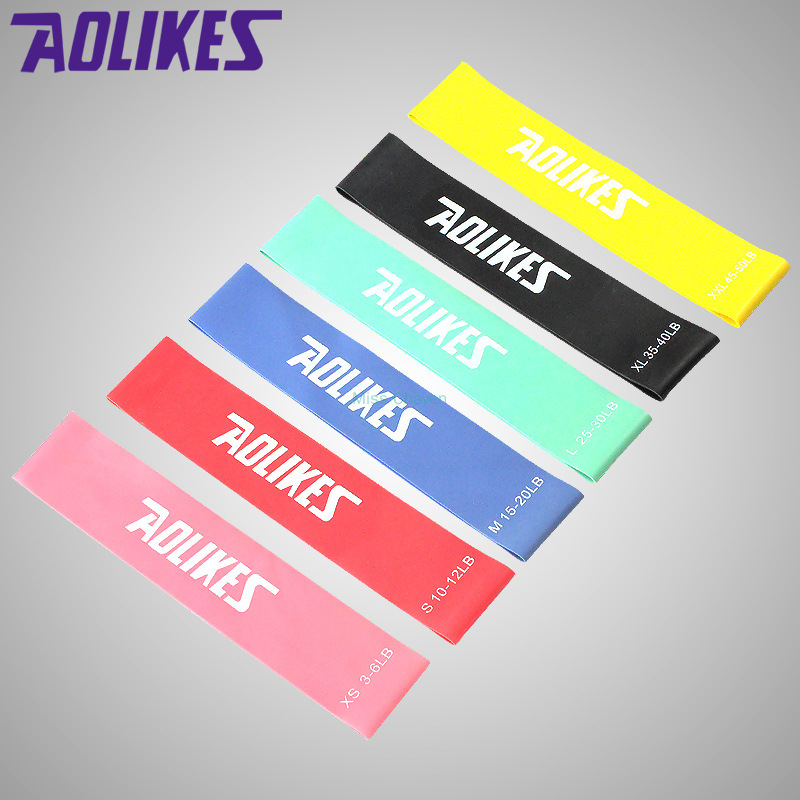 พร้อมส่ง! พรีเมี่ยม AOLIKES ยางยืดออกกำลังกายแรงต้าน 5 ระดับยางยืดออกกำลังกายยืดหยุ่นสะโพกยางยืดยืดสะโพกคุณภาพสูง