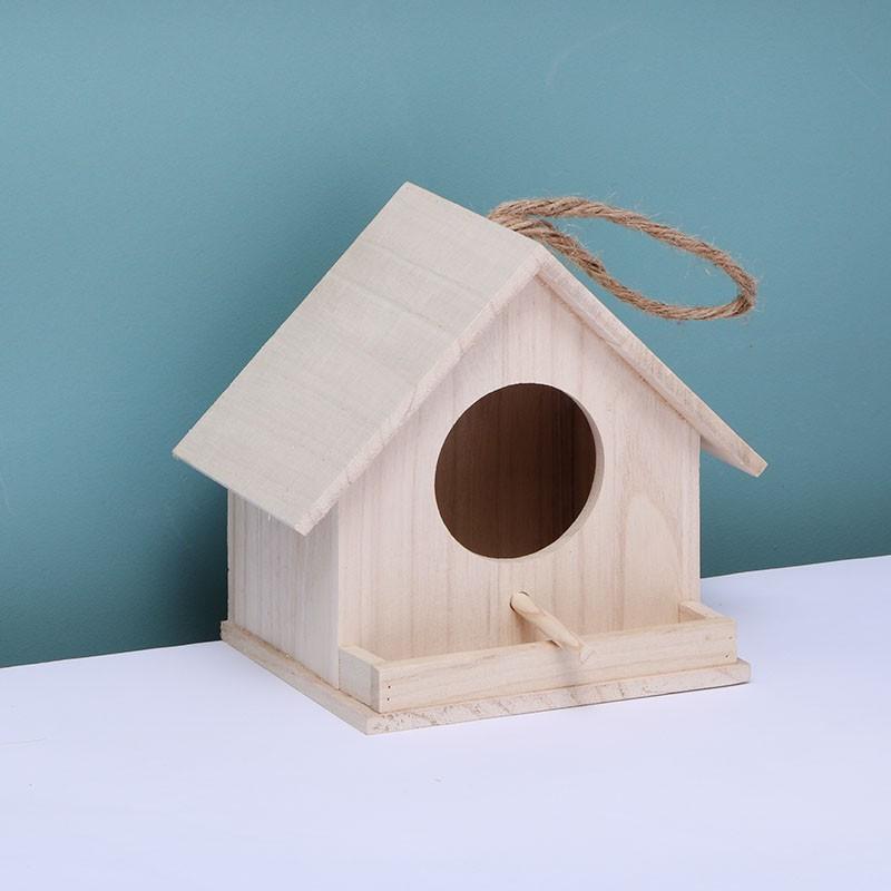 บ้านนกรังนกกลางแจ้งผ่านรังนกกรงกล่องเพาะพันธุ์รังนกรังนกนกแก้วรังนกอบอุ่นผสมพันธ