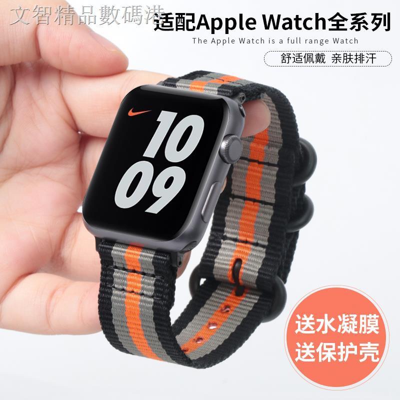 สายนาฬิกาข้อมือไนล่อนสําหรับ Applewatch 6 Applewatch 1/2/3/4/5