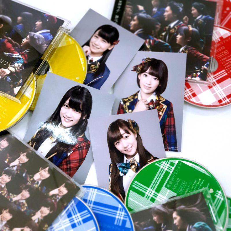 "🌟Stock Up date🌟 CD+DVD+รูปเรกุ AKB48 38th Single ""Kibouteki Refrain"" Regular Edition Type A, B, C และ D"