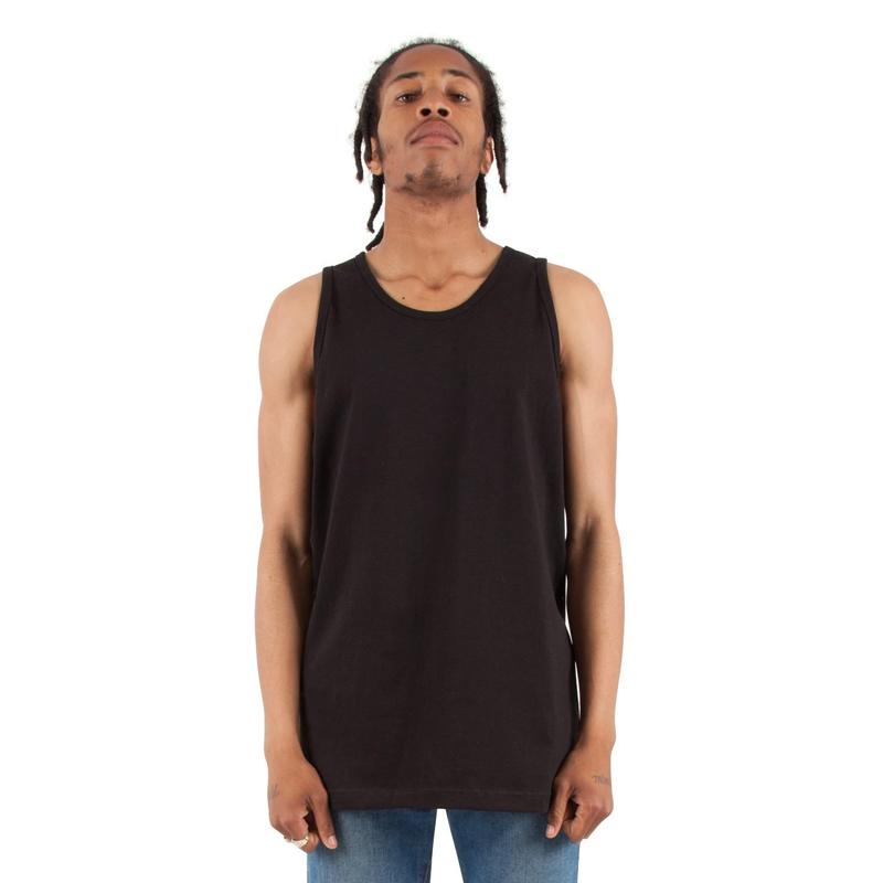 PROCLUB หนักไปหน่อย6.05oz ฮิปฮอปหลวมขนาดใหญ่คอกลมเสื้อลำลองผ้าฝ้ายเสื้อยืดผู้ชาย rFhb