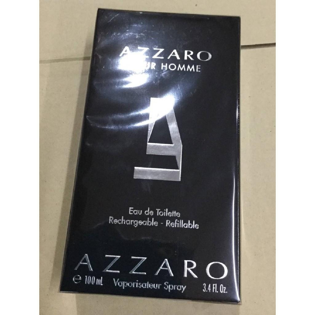 ส่งฟรี Azzaro Pour Homme EDT 100ml กล่องซีล