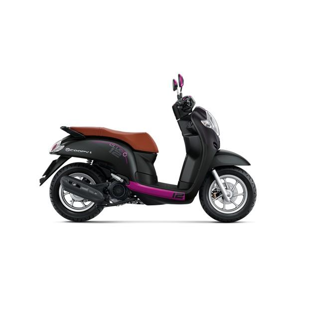 รถจักรยานยนต์ Honda New Scoopy i club 12