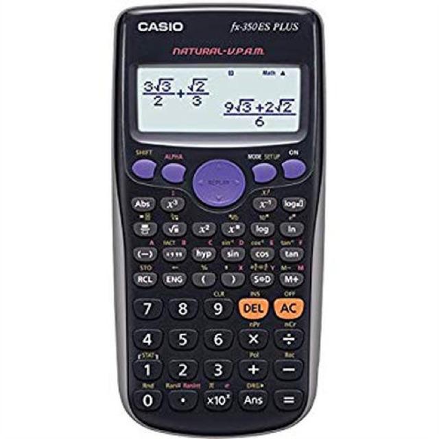 CASIO รุ่น FX-350ES PLUS