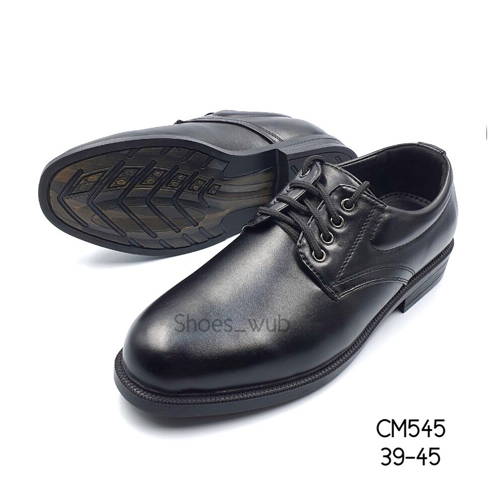 รองเท้าคัชชูหนังผู้ชายผูกเชือก ยี่ห้อCSB รุ่น cm545 ไซส์ 39-45