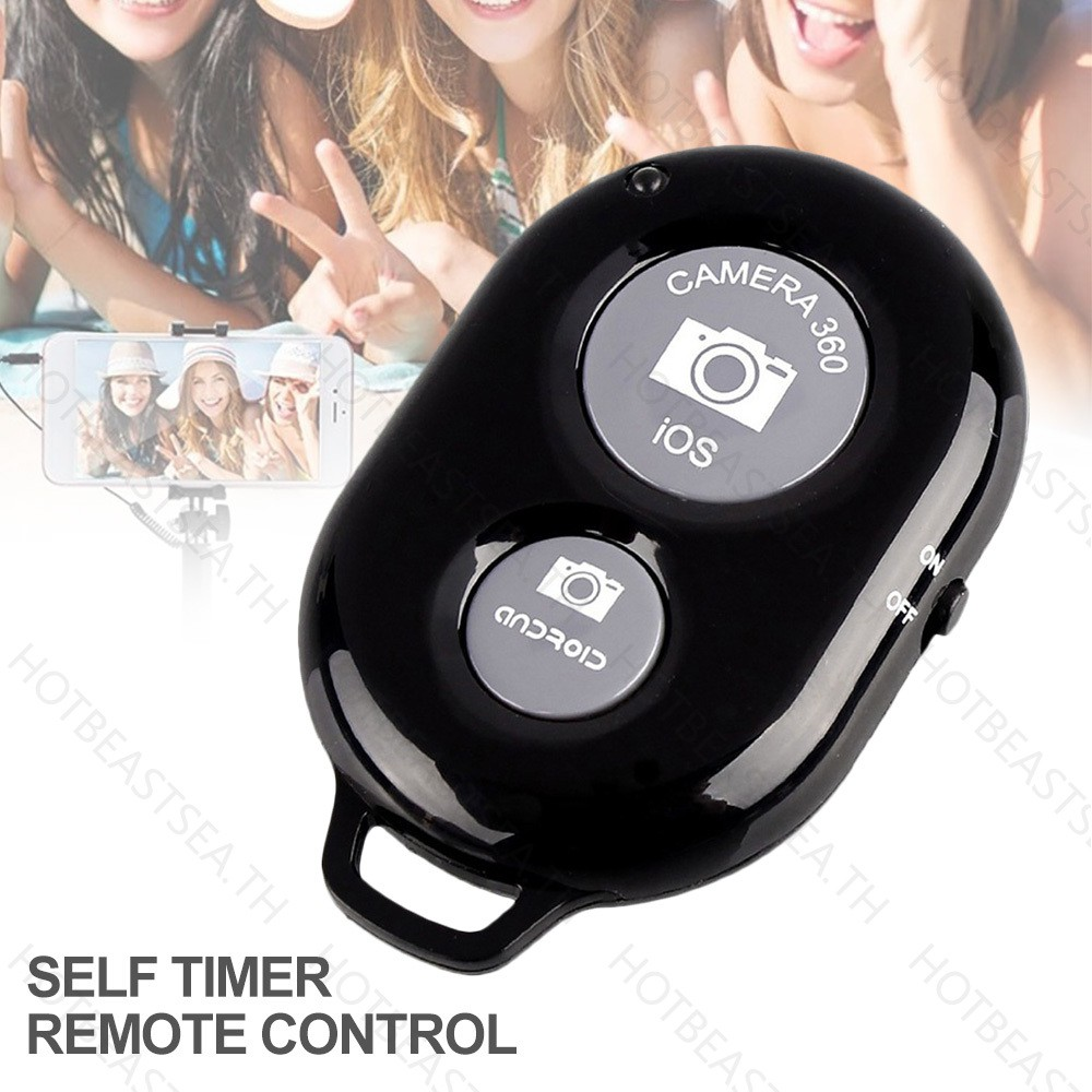 Wireless Bluetooth Self-Timer Shutter Remote Control For Android IOS System