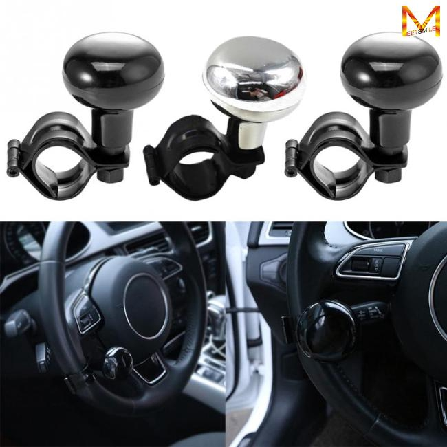 Active 1* Auxiliary Booster Car Steering Wheel Spinner Knob Aid Control Handle Grip Use Controllers Atv,rv,boat & Other Vehicle