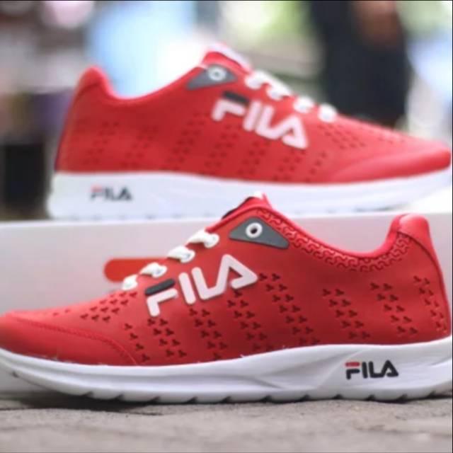 Fila Red รองเท้ากีฬารองเท้าวิ่งสําหรับผู้ชายและผู้หญิง