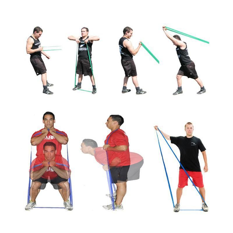 ยางยืดออกกำลังกาย เซ็ต 3 ชิ้น ยางยืด ออกกำลังกาย แบบวงกลม ผ้ายืดออกกำลังกาย ยางยืดแรงต้าน  ยางยืดออกกำลังกายแรงต้านสูง