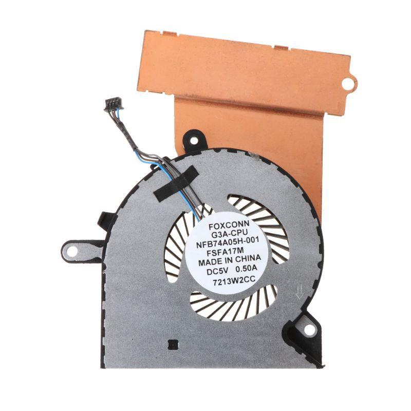 พัดลมระบายความร้อนสำหรับ HP Omen 15-CE 17-AN