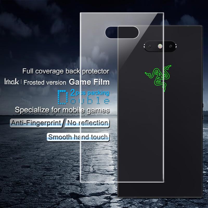 ฟิล์มกันรอยหน้าจอ 2 ชิ้นสําหรับ Razer Phone 2 ( Full Coverage )