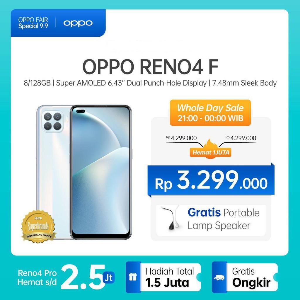 OPPO Reno4 F 8GB/128GB [Helio P95, 48MP Quad C