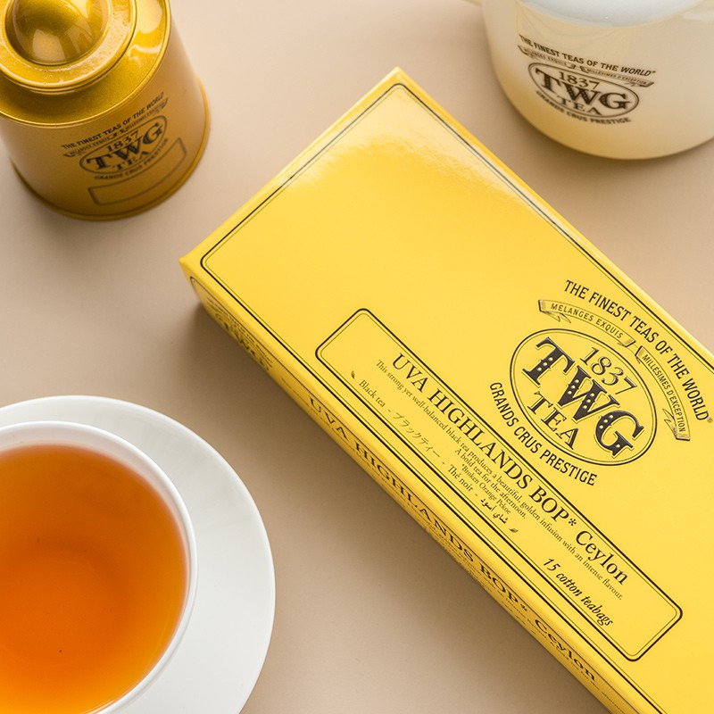 Shu Yunjia TWG Tea Uwa Highland Tea Plantation Teabag Black Tea Sri Lanka Tweed Tea