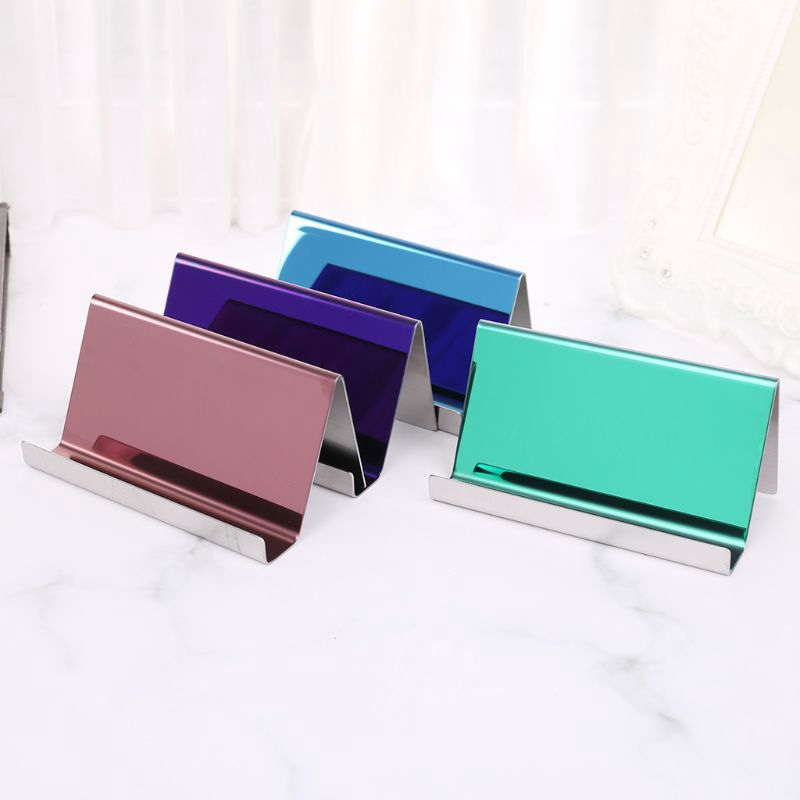 Stainless Steel Money Clip Credit Card ID Cash Holder Note Organizer Durable 1PC