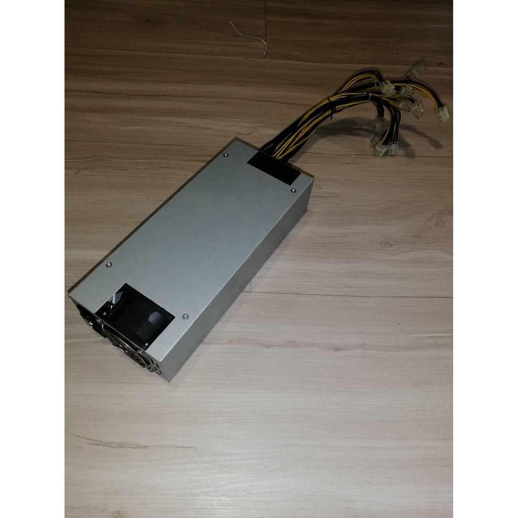Mojojojoe : Power Supply สำหรับเครื่องขุดเหรียญ คริปโตเคอเรนซี่ ASIC (For Cryptocurrency Miner) 1500Watt (มือสอง Used)