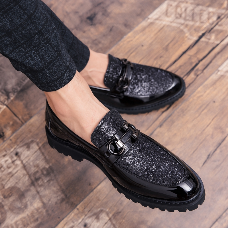 รองเท้าหนังผู้ชาย สบายเท้า ผิวมันเรียบ รองเท้าหนังคัชชูดำ งานดี ทรงสวยใส่ทน ลดราคาพิเศษ คัทชูหนังขัดมัน แบบสวม