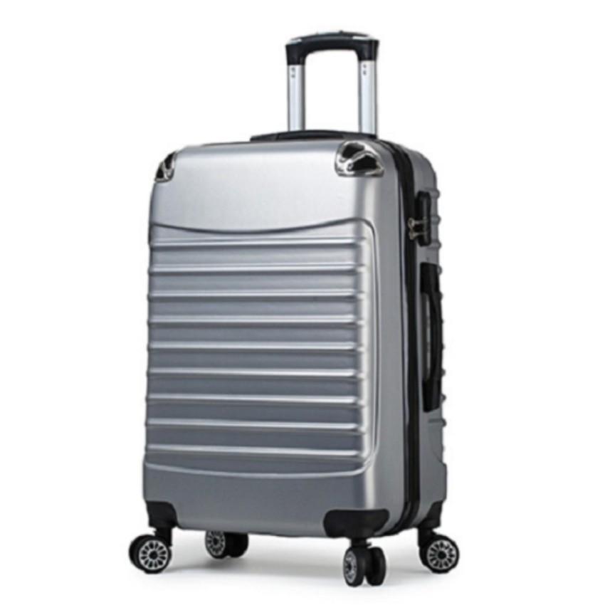 กระเป๋าเดินทางล้อลาก 24 นิ้ว สีเทากระเป๋าเดินทาง