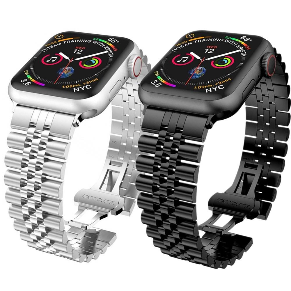 สาย Applewatch Premium สายนาฬิกา applewatch series 6 5 4 3 2,Apple watch SE Stainless Steel apple watch Strap size 38มม.