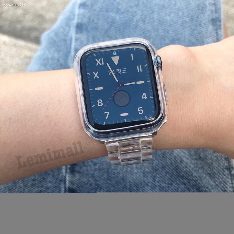 【Lowest price】✧สายนาฬิกาข้อมือแบบใสสําหรับ applewatch6  5 4 3 2 1 band 42 มม. 38 iwatch series6 3/2/1 44