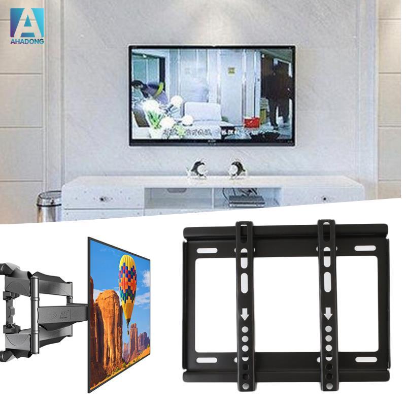 อุปกรณ์เมาท์ขาตั้งติดผนังสําหรับ 14-32 flat panel lcd led plasma monitor tv