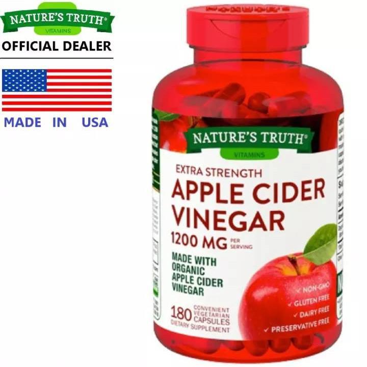 Apple Cider Vinegar 180เม็ด