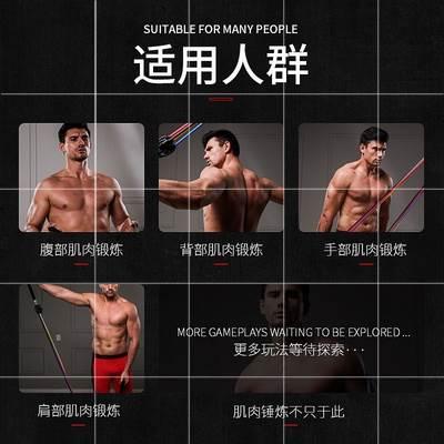 ❤ご2020มีของพร้อมส่ง ดึงเชือกเชือกยางยืดผู้ชายบ้านอุปกรณ์ออกกำลังกายความแข็งแรงรวมกันการฝึกอบรมความต้านทานเข็มขัดการฝึกอบ