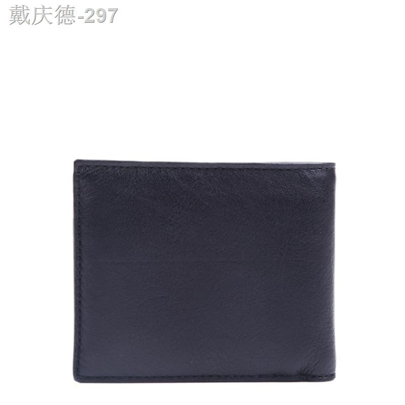COACH/Coach Wallet Outlet กระเป๋าสตางค์ใบสั้นสำหรับผู้ชาย 75084