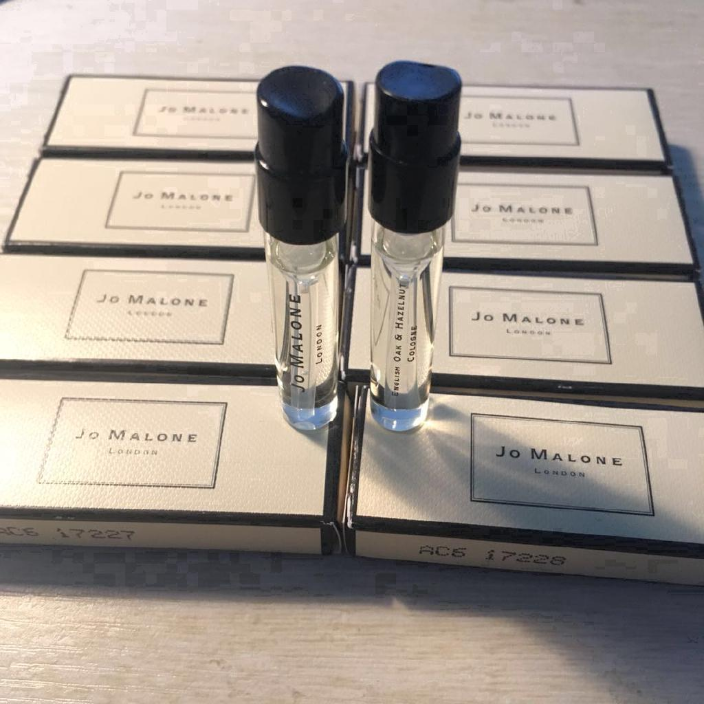 Review Jo Malone English Pear Sea salt Red rose 1.5 มล. แบบพกพา