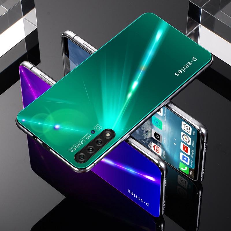 [NOWA5 pro]สมาร์ทโฟนใหม่ NOWA5 pro 6.1 นิ้วจดจำใบหน้าและจดจำลายนิ้วมือ มือถือจอหยดน้ำ(4+64GB)